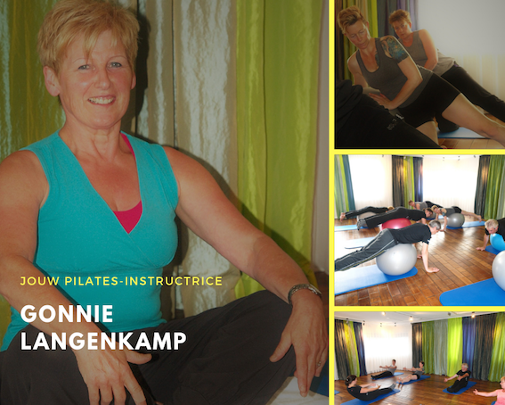 JOuw Pilates instructrice Gonnie Langenkamp